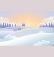 christmas holiday horizontal background vector image vector image