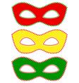 Masks traffic light vector image vector image