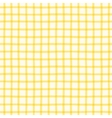 Seamless pattern with checkered geometric texture vector image vector image