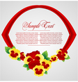 abstract background with ribbon vector image