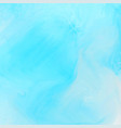 bright blue watercolor texture background vector image