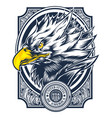 eagle made in usa united states america usa vector image vector image