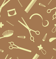 hairdressing pattern vector image