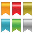 Ribbon Markers vector image vector image