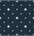 seamless stars pattern - space background vector image vector image