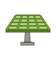 solar panel icon image vector image vector image