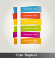 Template Design Colorful