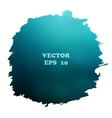 Watercolor background blue vector image