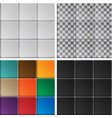 white tiles texture vector image vector image