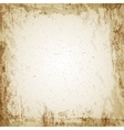 Grunge vintage paper texture background vector image
