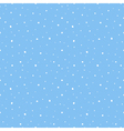 snow seamless pattern background vector image