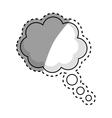 Comic bubble speakbox vector image vector image