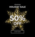 gold glitter snowflake sparks sale 50 off vector image vector image