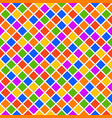 multicolor rhomb seamless pattern vector image vector image