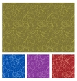Seamless background in four color vector image vector image