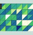 seamless geometric papercut pattern vector image vector image