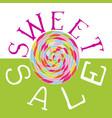sweet sale vector image vector image