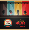 200concert stage vector image vector image