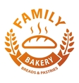 Bakery badge and logo icon vector image vector image