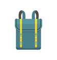 boy backpack icon flat style vector image vector image