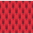 Cinema Seats Seamless Pattern Endless Texture vector image vector image