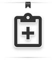 clipboard checklist or survey vector image