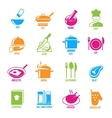Cooking Icons Set vector image vector image