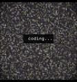 developer programming codejavascript abstract vector image vector image