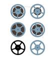 film spool vector image