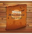 Happy Halloween poster template vector image