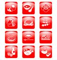 Japanese sushi-bar vector image vector image
