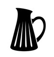jug milk or water canister pitcher simple logo vector image vector image