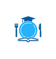 education food logo icon design vector image