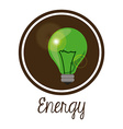 Energy saving design vector image vector image