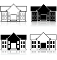 Fancy house vector image vector image