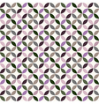 Geometric Circle Pattern Background vector image vector image
