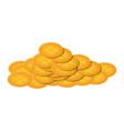 golden coin design vector image