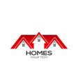 homes for sale logo design vector image