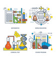 mathematics world education chemical program vector image