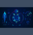 medical technology vector image vector image