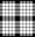 pixel monochrome plaid seamless pattern vector image