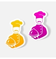 realistic design element cook vector image vector image