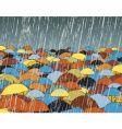 umbrellas vector image vector image