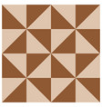 barn quilt pattern patchwork design vector image