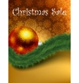 christmas sale card templates eps 8 vector image vector image