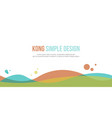 collection abstract background for header website vector image vector image