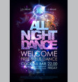disco ball background disco all night dance party vector image vector image