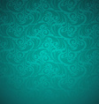 Emerald floral seamless pattern vector image vector image