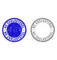 grunge no cholesterol textured stamp seals vector image vector image