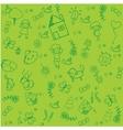 kids doodle design vector image vector image